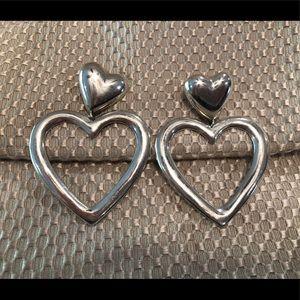 Jewelry - Beautiful heart earrings
